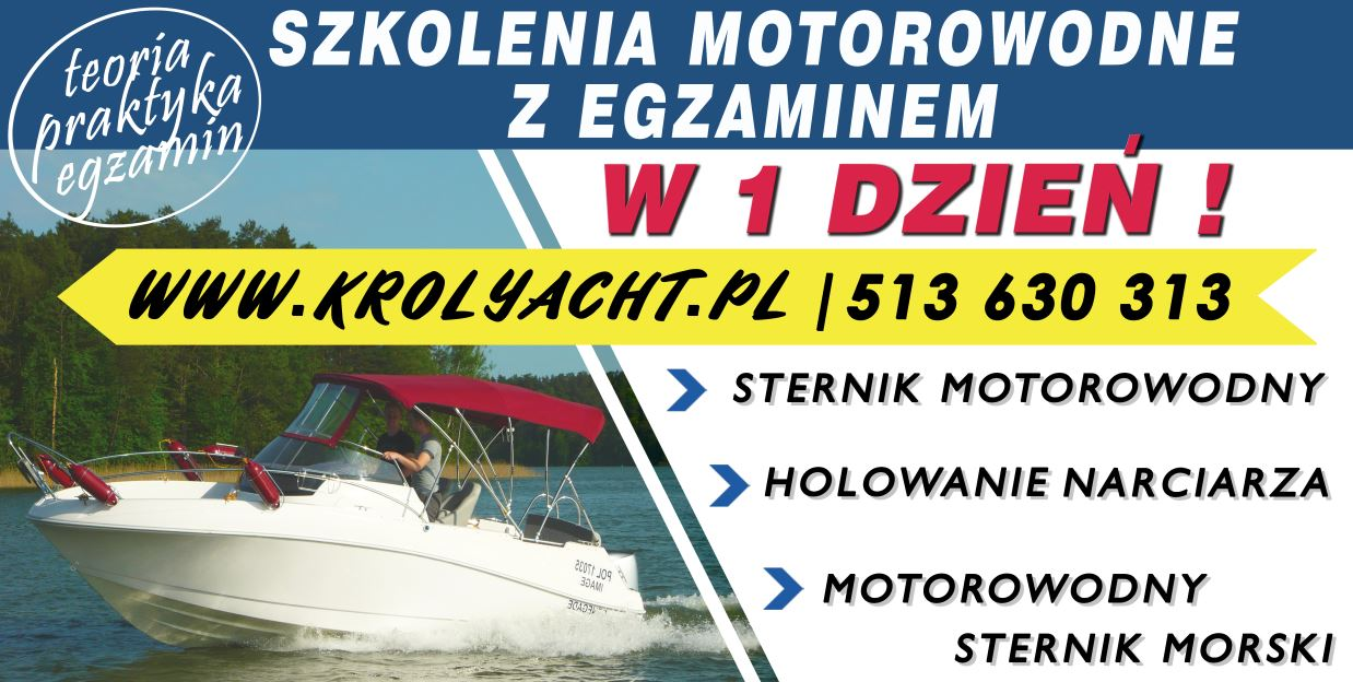 Morski Sternik motorowodny, kursy motorowodne w jeden dzien